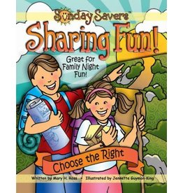 DISCONTINUED DISCONTINUED CLEARENCE - Sunday Savers CD ROM Sharing Fun Choose The Right