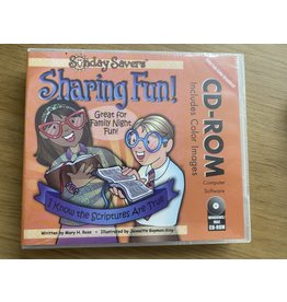 DISCONTINUED DISCONTINUED CLEARENCE - Sunday Savers CD ROM Sharing Fun I Know The Scriptures are True