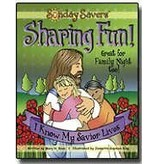 DISCONTINUED DISCONTINUED CLEARENCE - Sunday Savers CD ROM Sharing Fun I Know My Savior Lives