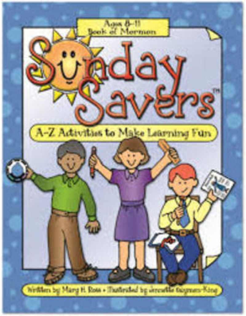 DISCONTINUED DISCONTINUED CLEARENCE - Sunday Savers CD ROM Age 8-11 Book of Mormon