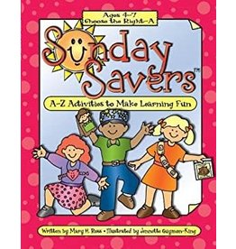 DISCONTINUED DISCONTINUED CLEARENCE - Sunday Savers CD ROM Age 4-7 CTR A
