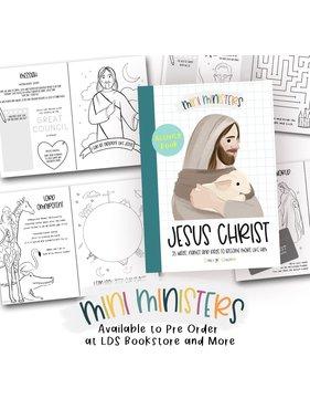 Mini Ministers - Jesus Christ 25 days 25 ways - Activity Book (Childs companion book to Adventus)