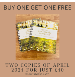 BUNDLE DEAL Two copies of General Conference Addresses, Journal Edition, April 2021