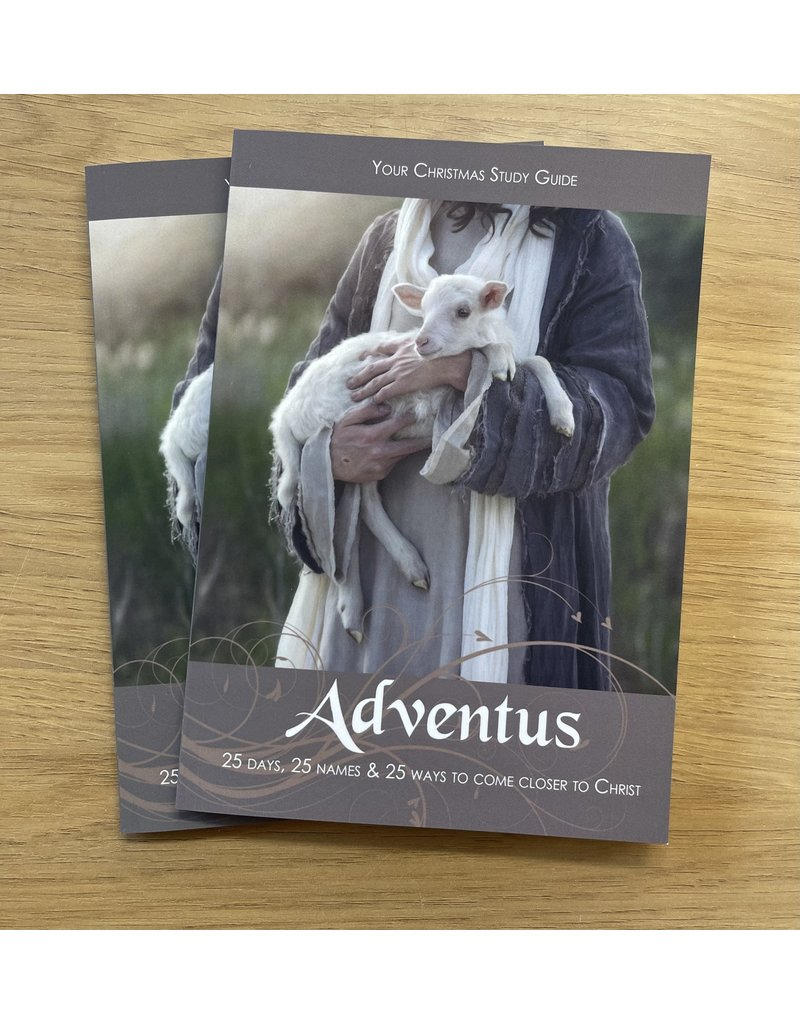 Adventus, 25 days, 25 names and 25 ways to come closer to Christ (a Christmas Study Guide)
