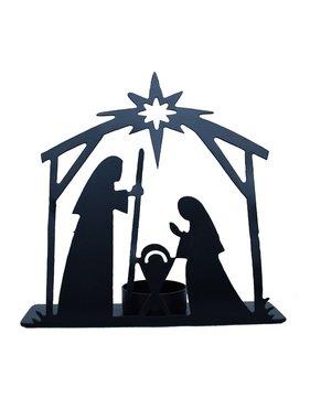 Faire: Mira Fair Trade Metal Nativity Scene - Small