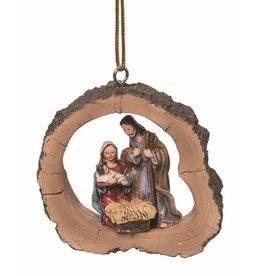 Faire: Transpac Resin Framed Nativity Ornament (2)