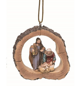 Faire: Transpac Resin Framed Nativity Ornament (3)