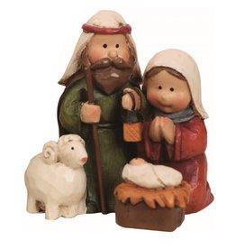 Faire: Transpac Resin Mini Nativity Figurine