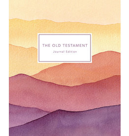 The Old Testament, Journal Edition, Patterned Unlined (No Index)