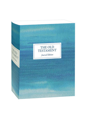 The Old Testament, Journal Edition, Blue Unlined (No Index)