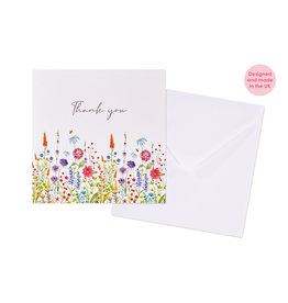 Richard Lang Flower Thank You Card