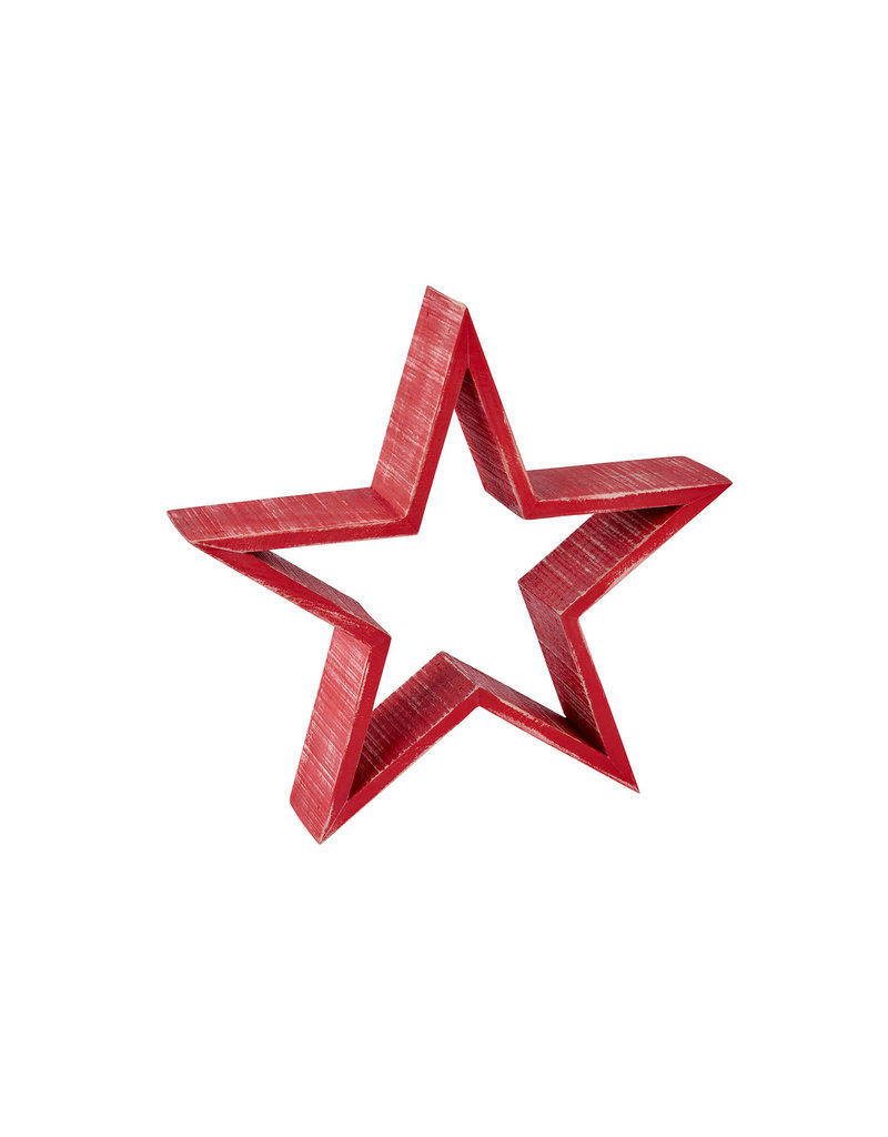 Richard Lang Red Standing Star (35cm)