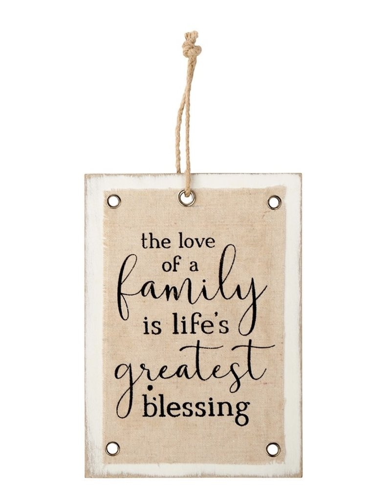 Richard Lang Love of a Family Hanging Sign
