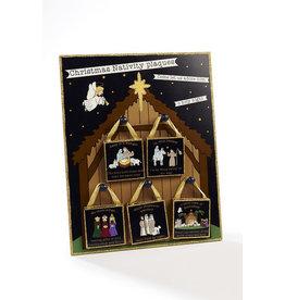 Richard Lang Christmas Nativity Plaques