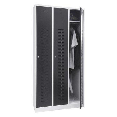 Inofec Garderobekast Premium 3-deurs