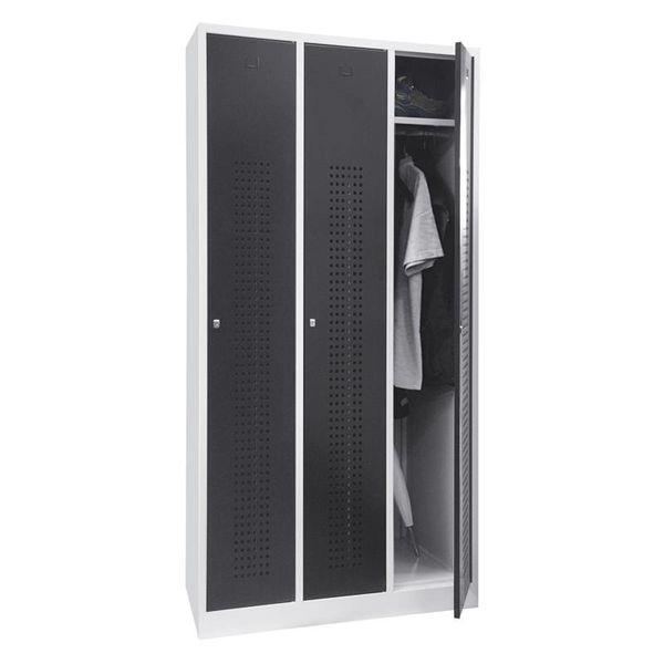 Lockerkast Premium 3-deurs