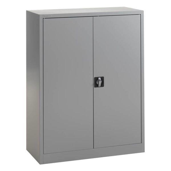 Middelhoge metalen draaideurkast 92b x 120h