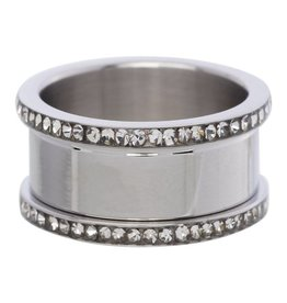 iXXXi Jewelry IXXXI Basis Ring Met Zirconia 10 mm