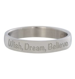 iXXXi Jewelry IXXXI Jewelry Vulring Wish, Dream, Believe 4 mm