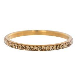 iXXXi Jewelry IXXXI Jewelry Vulring Zirconia Topaz Goudkleurig 2 mm