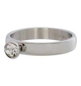 iXXXi Jewelry IXXXI Jewelry Vulring Zirconia 1 Stone Cristal 4 mm