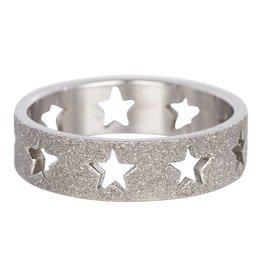 iXXXi Jewelry IXXXI Jewelry Vulring Sandblasted Stars 6 mm
