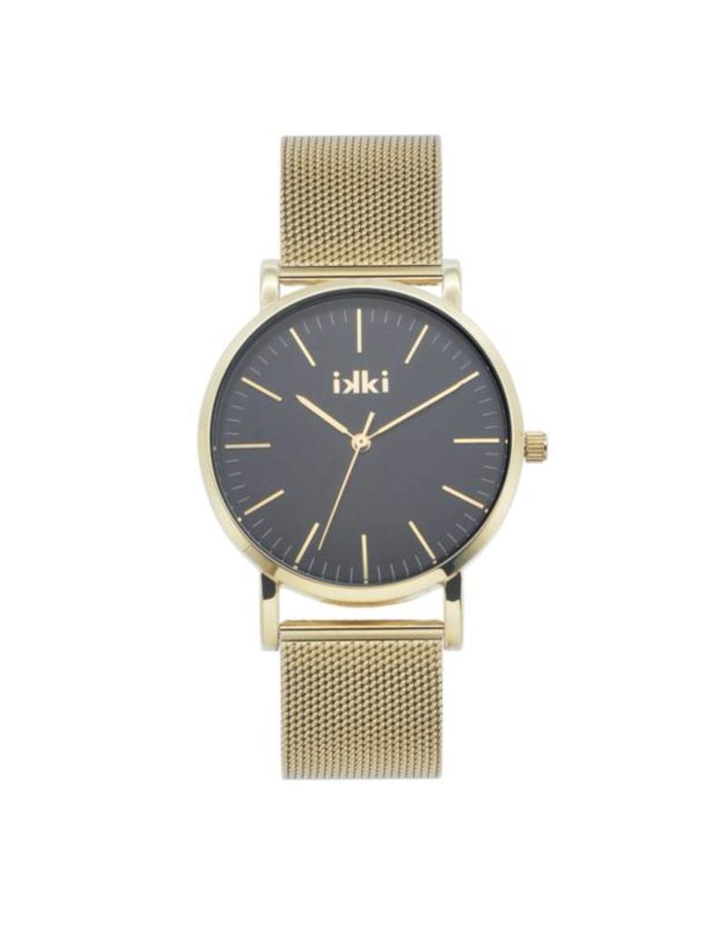 iKKi Horloges IkkI Janet JT20 Gold/Black Horloge