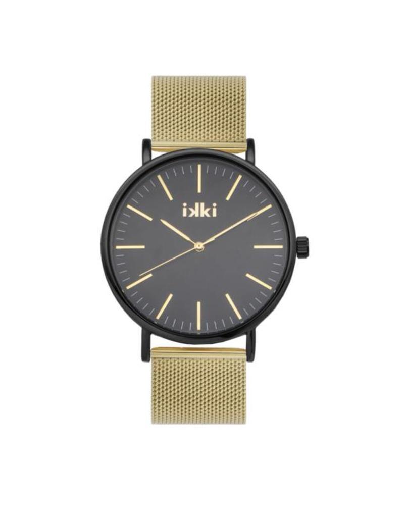 iKKi Horloges IkkI Danny DA-81 Gold Black DA-81 Horloge