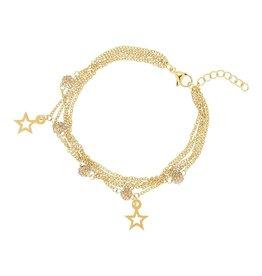 iXXXi Jewelry iXXXi Jewelry Chain Ball Star Armband