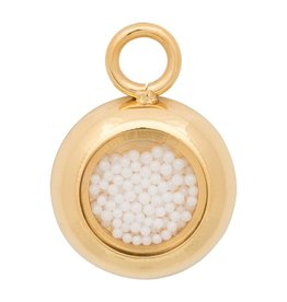iXXXi Jewelry iXXXi Jewelry Charms White balls 12mm