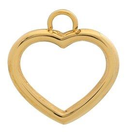 iXXXi Jewelry iXXXi Jewelry Charms Heart Open