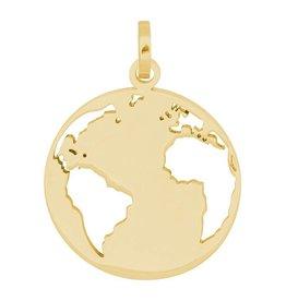 iXXXi Jewelry iXXXi Jewelry Hanger Wereldbol Ø22