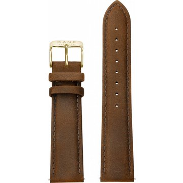 Kane Kane Strap Vintage Brown Gold Polished