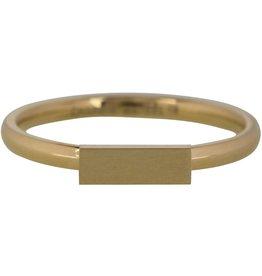 Charmin*s Charmin's Ring Steel Retangle