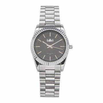iKKi Horloges Ikki BX02 Silver/Black Color