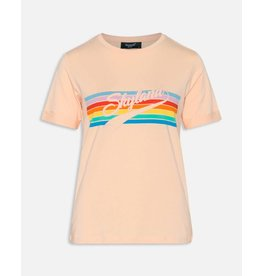 Sisters Point Sisters Point Pipsi-ss Peach/rainbow Shirt
