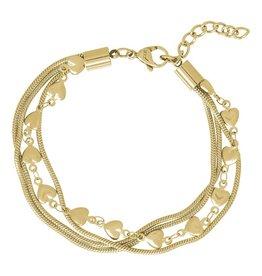iXXXi Jewelry iXXXi Jewelry Bracelet Snake and 1 Heart