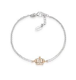 Amen Amen Bracelet Crown Silver/Rosé