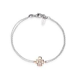 Amen Amen Bracelet Angel Silver/Rosé