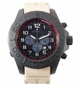 Kyboe! Horloges Kyboe CHRONO STEALTH SAND ST-002