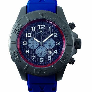 Kyboe! Horloges Kyboe CHRONO STEALTH TWILIGHT ST-004