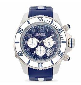 Kyboe! Horloges Kyboe CHRONO SILVER SEA KYC-002