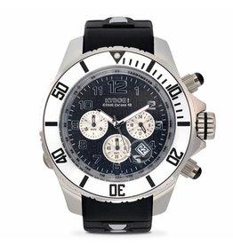 Kyboe! Horloges Kyboe CHRONO SILVER NIGHT KYC-003