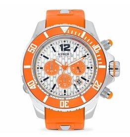 Kyboe! Horloges Kyboe CHRONO SILVER EXPLORER KYC-005