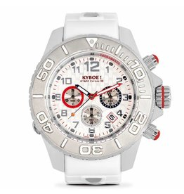 Kyboe! Horloges Kyboe CHRONO SILVER DICE KYM-001