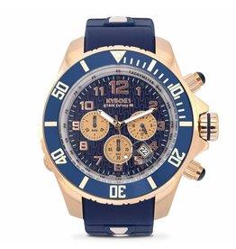 Kyboe! Horloges Kyboe CHRONO ROSE NAVY KYCRG-002