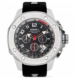 Kyboe! Horloges Kyboe TROOP SILVER STONE TRS-001