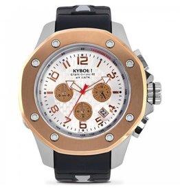 Kyboe! Horloges Kyboe TROOP SILVER ROSE TRS-003