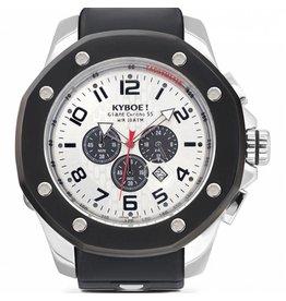 Kyboe! Horloges Kyboe TROOP SILVER SHADOW TRS-004 55mm