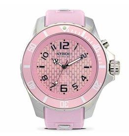 Kyboe! Horloges Kyboe SILVER PINK DUSK KY-041